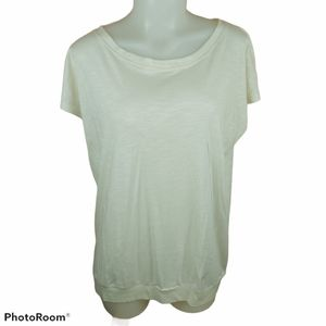 🍄3/45$🍄 ARC'TERYX cream tee shirt size large